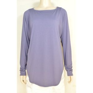 Michael Stars top tunic SZ S NWT gray dolman sleev